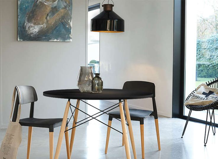 Petite table ronde scandinave infini photo Table style suedois