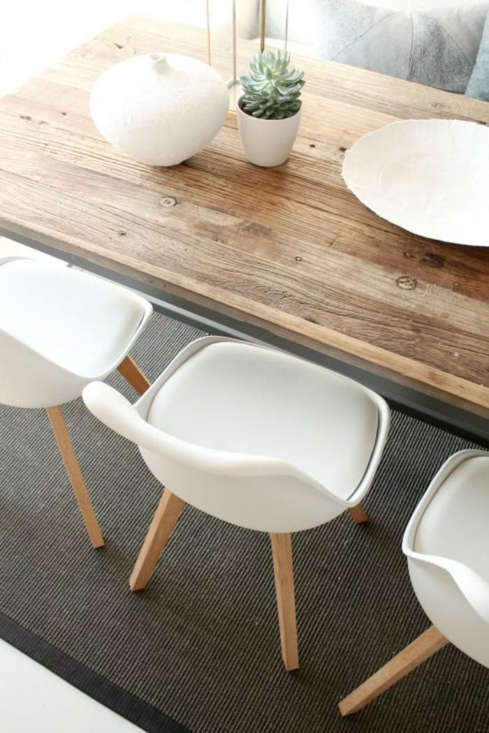 Table De Repas Style Scandinave - Infini Photo