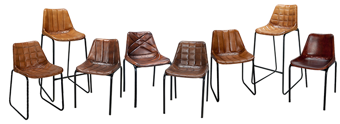 Chaise Cuir Vintage Perfect Banc Canap Chaise Vintage Cuir Cognac