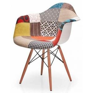 Chaise Design Coloré Infini Photo - Fauteuil scandinave coloré
