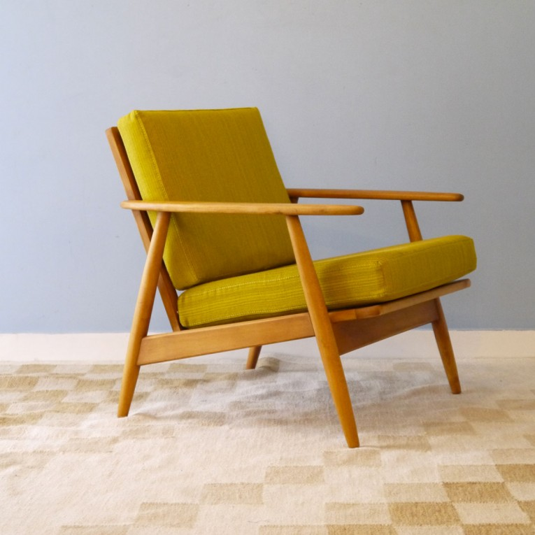 chaise scandinave jaune moutarde infini photo - Chaise Jaune Scandinave