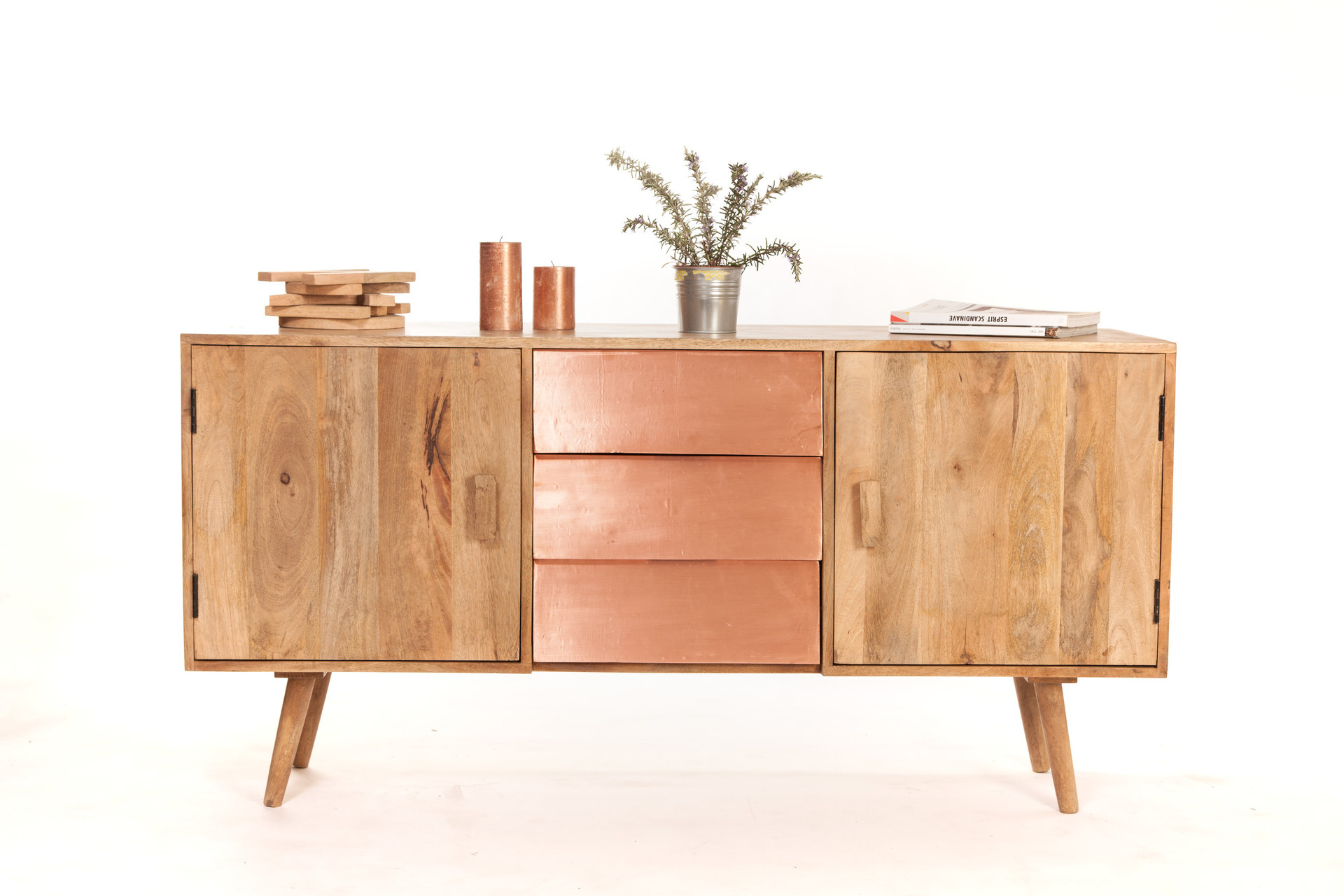Meuble bois scandinave infini photo - Buffet pas cher meuble ...