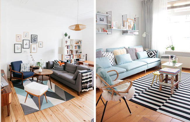 Mobilier style scandinave infini photo