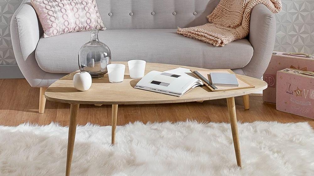 Coiffeuse scandinave pas cher infini photo for Table basse industrielle maison du monde