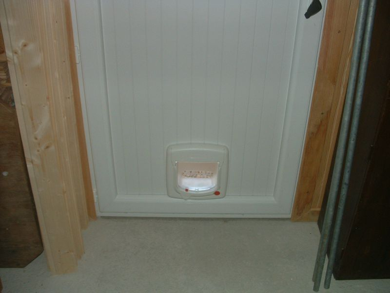 Installer Chati 232 Re Porte Pvc Infini Photo