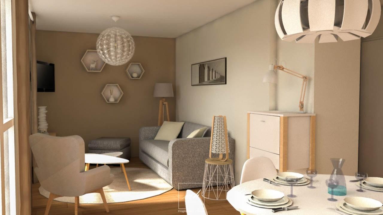 sejour scandinave infini photo. Black Bedroom Furniture Sets. Home Design Ideas