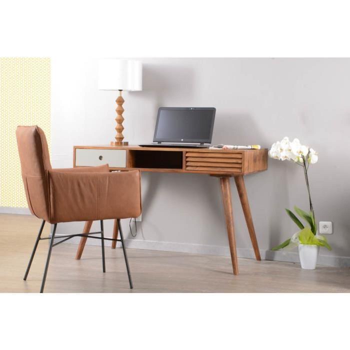 bureau vintage scandinave pas cher infini photo. Black Bedroom Furniture Sets. Home Design Ideas