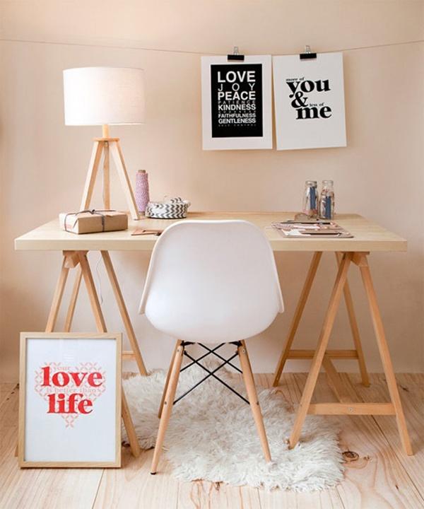 bureau type scandinave infini photo. Black Bedroom Furniture Sets. Home Design Ideas