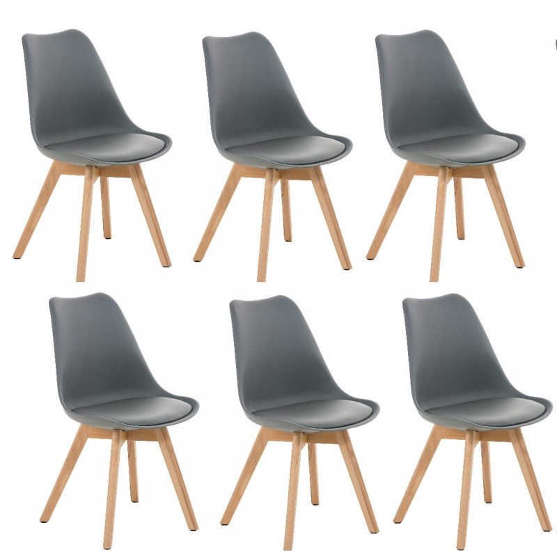 Chaise Salle A Manger Solde: Chaise Scandinave Cuir