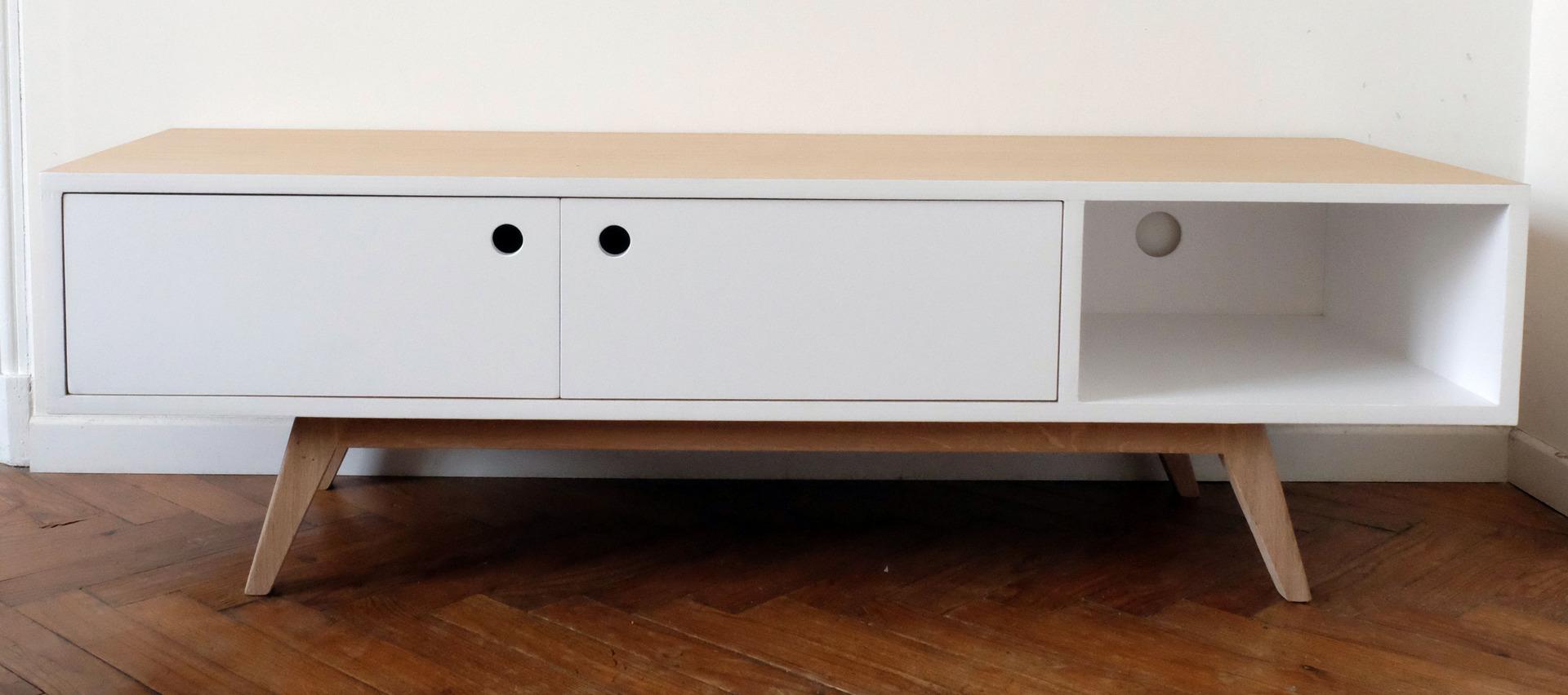 meubles tv scandinaves infini photo. Black Bedroom Furniture Sets. Home Design Ideas